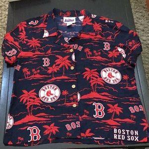 Reyn Spooner Boston Red Sox MLB Hawaiian Shirt EUC